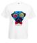 No i elegancko koszulka z nadrukiem zwierzeta mezczyzna werprint 424 2
