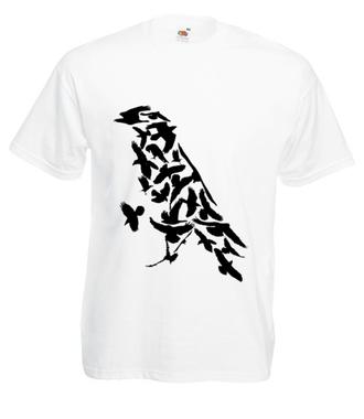 Krucze opowieści - Koszulka z nadrukiem - Zwierzęta - Męska