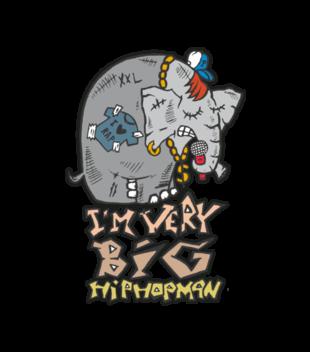 Slon w hip hop skladzie grafika na koszulke meska 89