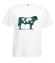 Na krowie sie nie miesci koszulka z nadrukiem zwierzeta mezczyzna werprint 427 2