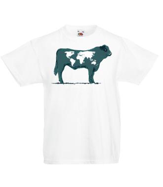 Na krowie się nie mieści - Koszulka z nadrukiem - Zwierzęta - Dziecięca