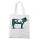 Na krowie sie nie miesci torba z nadrukiem zwierzeta gadzety werprint 427 161