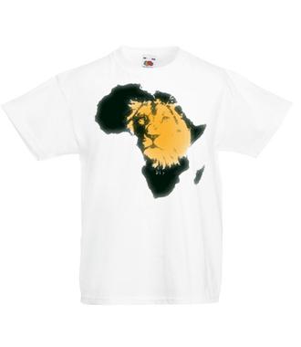 Kraina wielkiego lwa - Koszulka z nadrukiem - Zwierzęta - Dziecięca