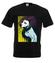 Magia psiego spojrzenia koszulka z nadrukiem zwierzeta mezczyzna werprint 429 1