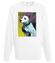 Magia psiego spojrzenia bluza z nadrukiem zwierzeta mezczyzna werprint 429 106