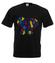 Motylem jestem koszulka z nadrukiem zwierzeta mezczyzna werprint 430 1