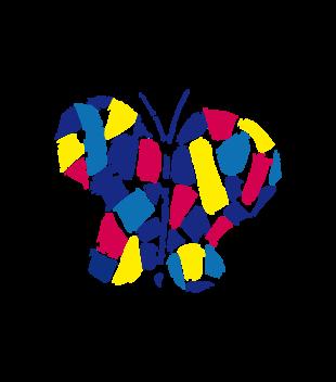 Motylem jestem grafika na koszulke dziecieca 430