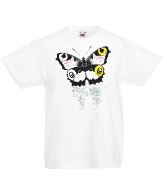 Motyla klasyka. Magia skrzydeł. - Koszulka z nadrukiem - Zwierzęta - Dziecięca