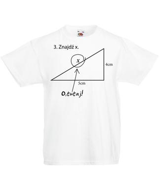 Matematyka - królowa nauk. - Koszulka z nadrukiem - Szkoła - Dziecięca