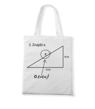 Matematyka - królowa nauk. - Torba z nadrukiem - Szkoła - Gadżety