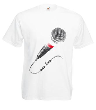 Jedna miłość, jeden kraj - Koszulka z nadrukiem - Muzyka - Męska