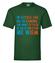 Nie pytaj ja nie wiem koszulka z nadrukiem szkola mezczyzna werprint 441 188
