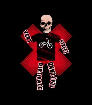 Skate ulica i ja grafika na koszulke dziecieca 446