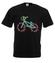 Rowerem przez swiat koszulka z nadrukiem skate mezczyzna werprint 448 1