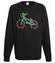 Rowerem przez swiat bluza z nadrukiem skate mezczyzna werprint 448 107