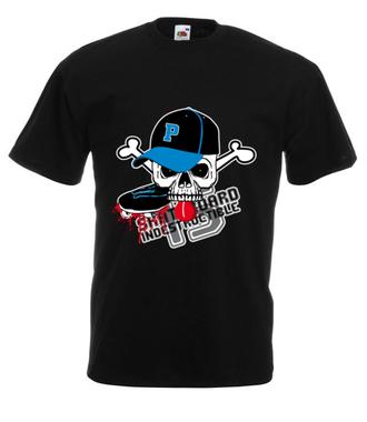 Destrukcyjny skateboarding - Koszulka z nadrukiem - Skate - Męska