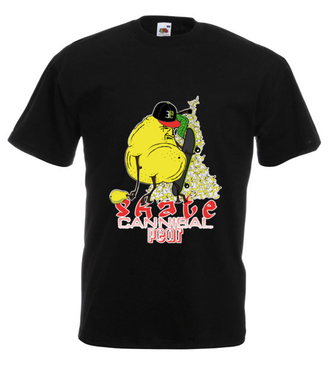 Skejt-Kanibal - Koszulka z nadrukiem - Skate - Męska