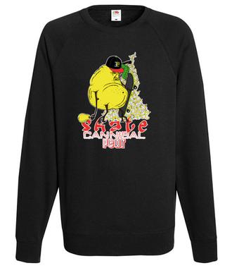 Skejt-Kanibal - Bluza z nadrukiem - Skate - Męska