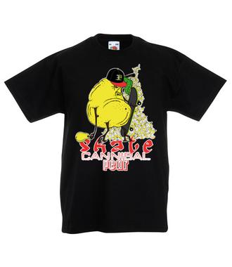 Skejt-Kanibal - Koszulka z nadrukiem - Skate - Dziecięca