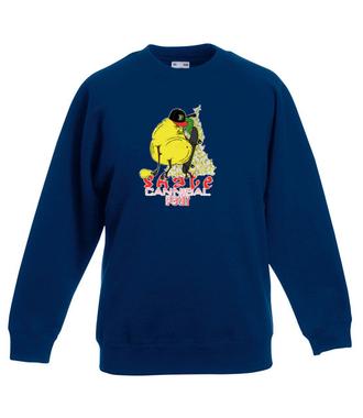 Skejt-Kanibal - Bluza z nadrukiem - Skate - Dziecięca