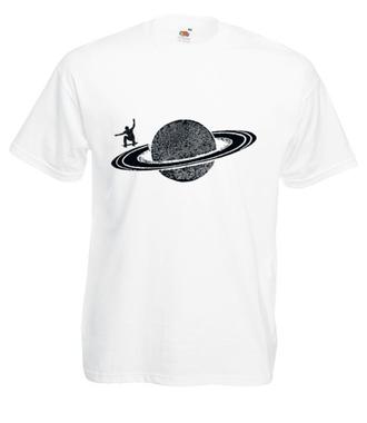 Tam, gdzie może być życie - Koszulka z nadrukiem - Skate - Męska