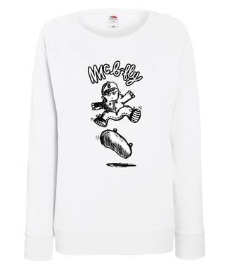 Latać każdy może - Bluza z nadrukiem - Skate - Damska