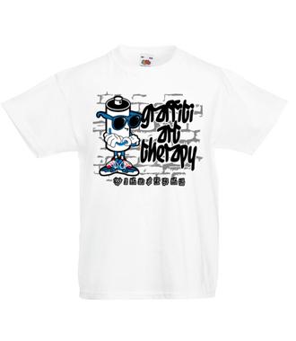 Graffiti mnie odpręża - Koszulka z nadrukiem - Skate - Dziecięca