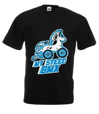 Mój miejski bmx - Koszulka z nadrukiem - Skate - Męska