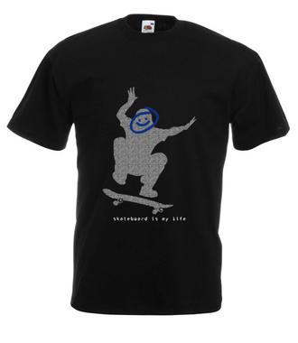 Radość z każdej chwili - Koszulka z nadrukiem - Skate - Męska