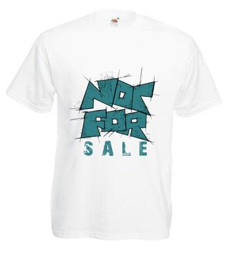 Nie na sprzedaż - Koszulka z nadrukiem - Skate - Męska