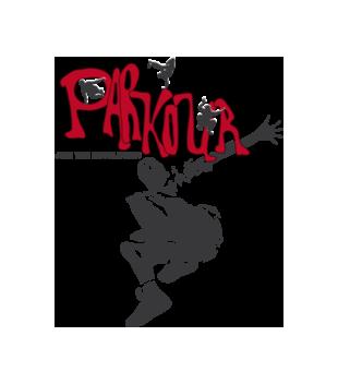 Parkour styl i rewolucja grafika na koszulke dziecieca 465