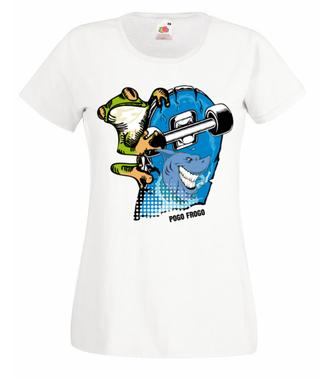 Frogo pogo - Koszulka z nadrukiem - Skate - Damska