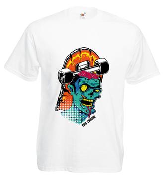 Zombie na streecie - Koszulka z nadrukiem - Skate - Męska