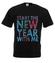 Rozpocznij nowy rok ze mna koszulka z nadrukiem swiateczne mezczyzna werprint 469 1