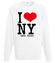 Kocham nowy rok bluza z nadrukiem swiateczne mezczyzna werprint 471 106