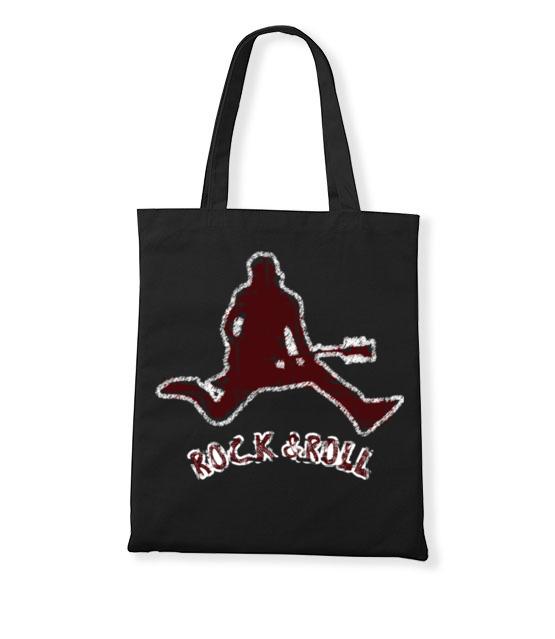 Rock czy roll 2w1 torba z nadrukiem muzyka gadzety werprint 97 160