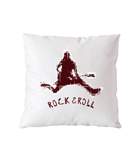 Rock czy roll 2w1 poduszka z nadrukiem muzyka gadzety werprint 97 164