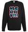 Merry x mas bluza z nadrukiem swiateczne mezczyzna werprint 474 107