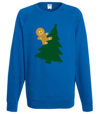 Jazda bez trzymanki - Bluza z nadrukiem - Świąteczne - Męska