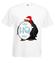 Ho ho ho koszulka z nadrukiem swiateczne mezczyzna werprint 476 2