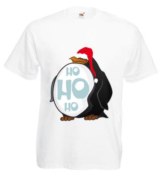 Ho, Ho, ho - Koszulka z nadrukiem - Świąteczne - Męska