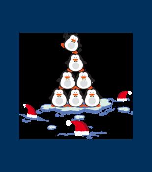 Pingwinem byc grafika na bluze dziecieca 477