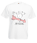 Trafiony strzala amora koszulka z nadrukiem swiateczne mezczyzna werprint 479 2