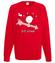 Trafiony strzala amora bluza z nadrukiem swiateczne mezczyzna werprint 479 108