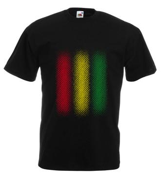 Muzyka w rytmie reggae  - Koszulka z nadrukiem - Muzyka - Męska