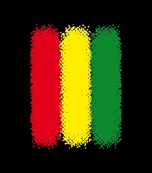 Muzyka w rytmie reggae grafika na koszulke meska 99