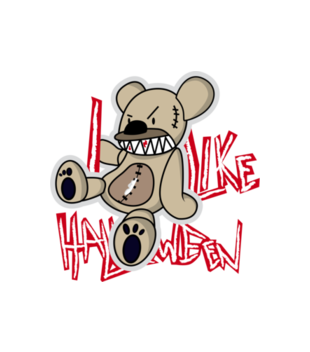 Halloween straszne halloween grafika na koszulke dziecieca 484