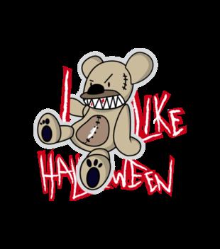 Halloween straszne halloween grafika na bluze z kapturem meska 484