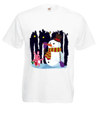 Nie ufam ładnej buzi - Koszulka z nadrukiem - Świąteczne - Męska