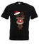 Hopsa sa reniferku koszulka z nadrukiem swiateczne mezczyzna werprint 496 1